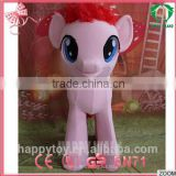 2015 HI wholesale cheap lovely horse pony mascot costume for adult with EN71