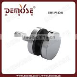 inox round glass clips / balustrade glass clip / stainless steel handrail glass clip