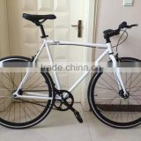 700C hi ten steel single speed road bike/fixed bike made in China