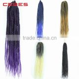 cheap wholesale ombre K K braiding hair, K K fiber two tone marley braid hair                                                                         Quality Choice