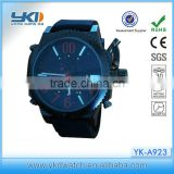 2014 new arrival 3atm waterproof japan movt quartz watch stainless steel back