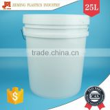 Leaking Provented Plastic Bucket, US type Plastic Container, 25l Plastic Paint Bucket