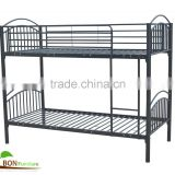 Metal twin sleeper bed /metal bunk bed with bending side rails