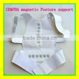 Magnetic Posture Back Shoulder Corrector Support Brace Belt