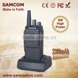 SAMCOM CP-700 2200mAh Li-ion Battery Hot Selling Wide Frequency Range Walkie Talkie Wireless Tour Guide System