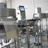 Automatic online checkweigher for fish, chicken, sea food product with competitive price