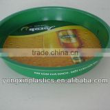 Pastic non-slip charger plates wholesale plastic for food serving