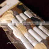 High quality 100% cotton threads cross stitch embroidery floss