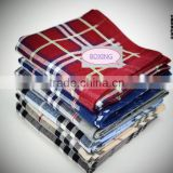 Various specifications of cotton yarn dyed handkerchief Pillow towel