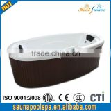 2014 Hot selling Aristech acrylic spa hot tub sexy hot tub massage(2 persons)