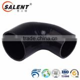 6.5mm high temperature reinforced automotive Black 90 degree silicone elbow hose rubber hose