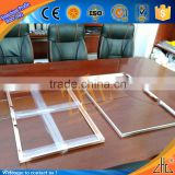 Hot! good sliver anodized aluminum frames price, customized cnc computer case bending aluminum channel