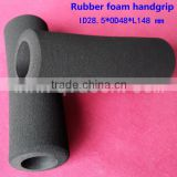 2.5 inches plastic handle rubber girps for weightliftings barbell grips sets weight-lift for fitness bodybuilding
