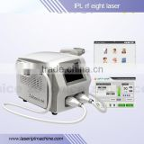 new technology q switch nd yag laser Pigmentation removal & ipl shr laser hair removal beauty machine E11C-Erica