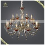 Large Classic Crystal Candle Chandelier Pendant Lamp for Home and Hotel Decorative Lighting