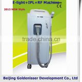 Chest Hair Removal 2013 New Design E-light+IPL+RF Salon Machine Tattooing Beauty Machine Laser Cosmetology Device 590-1200nm