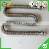 finned electric heating elements for industrial fan heater
