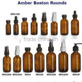 amber boston bottles or amber medicine bottles