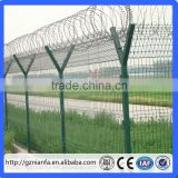 Guangzhou galvanized decorative wire barbed wire fencing/barb wire fence sale(Guangzhou Factory)