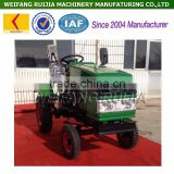 China Weifang agricultural equipment factory 15hp condensed engine mini tractor for sale, 12hp water cooled farm tractors !