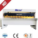 Q11 series 1.5*2500 electrical shearing machine used for sheet metal cutting