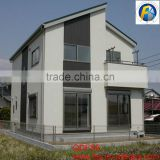 Lighted Ceramic Christmas Village Houses Prefabricated Steel Frame Villa Architecture Design Houses