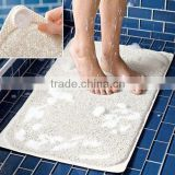 Non Slip bathroom floor mat, Baby Silicone PVC dish drying Bath Mat