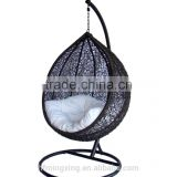swing chair indoor , patio swing with canopy , garden hammock and stand