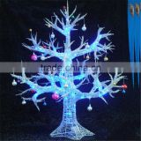 SJ20170044 Hot sale artificial LED lighted tree fake cherry tree for night