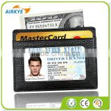 The Slim Wallet Genuine Front Pocket Secure Thin ID And Card Holder