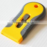 rubber putty knife old film removal tool auto window tool with 1.5 inch stainless steel blade