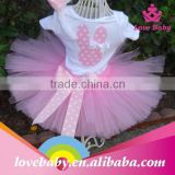 Wholesale Pink Bunny Girls Boutique Easter Tutu Skirt Costumes LBP15011302