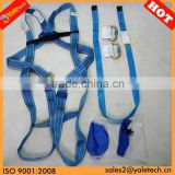 CE EN361 full body safety harness/protection harness/construction safety belts with lanyard