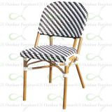 Restaurant Chairs for Outdoor Commercial Aluminum Bamboo Chairs