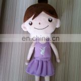 customized dance girl Ally plush doll,soft plush Ally plush toy for sale