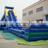AOQI great attraction cheapest inflatable water slide for trade fair