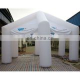6x6 m Inflatable tent, inflatable mobile tent, inflatable medical use tent,