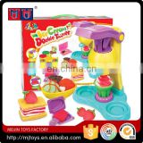 Meijin Hot Creative DIY kids non-dry play dough set 3D mud color clay plasticine ice cream mold tool set