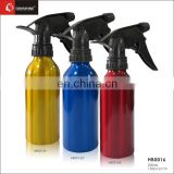 Plastic tragger aluminium spray bottle for hair coloring