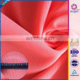 Fashion Custom Red Knit Strech Nylon / Chinlon Spandex Fabric
