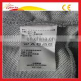 Hot Sale High Quality Silk Screen Printing Clothing Labels