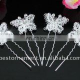 Bridal Butterfly Handmade Hair Pins