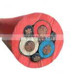 8KV 3 core and 4 core copper conductor Type G G-GC W SHD-GC CPE Rubber Sheathed Power Portable Mine Cable