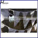 Fancy Triangle Lace Bunting Flags PLA017