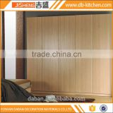 Simple design bedroom wardrobe design model in melamine wardrobe in foshan