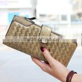Women wallet female ultra-thin design women's bow long wallet multi card holder wallet women's wallet purse