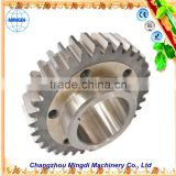 changzhou machinery Differential Spur gear Parts/ Steel Small Pinion tactical gear reduction gear bicycle gear set