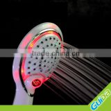 Led rainfall shower head water saving with temperature digital display                                                                         Quality Choice