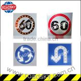 Speed Limit Blue Reflective Flashing Highway Traffic Signs