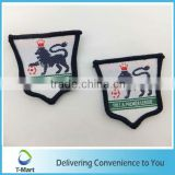 Horse Embroidery Badge/Sticker/patch design woven label for clothings, bags, and garments